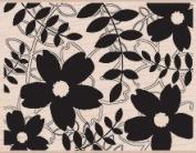 Designblock Flower Outline Leaf Pattern by Hero Arts