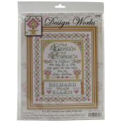 Design Works Counted Cross Stitch Kit 20cm x 25cm