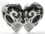 DOUBLE HEADED Skull Belt Buckles at Prices