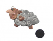Bo Peep Sheep Needle Nanny Magnetic Needle Minder, Brooch