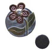 Flower Needle Nanny Magnetic Needle Minder, Brooch