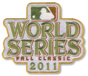 2011 World Series Fall Classic MLB Baseball Jersey Sleeve Patch - Texas Rangers vs St. Louis Cardina