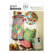 Butterick Patterns B5933 Pillow, Pants, Hat and Tote Sewing Template, Size Y