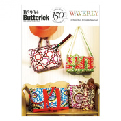 Butterick Patterns B5934 Bags Sewing Template, One Size Only