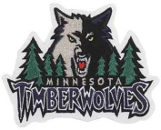 Minnesota Timberwolves Logo Patch