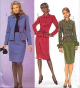 Butterick B4617 JACKET, SKIRT & BELT Misses' Size
