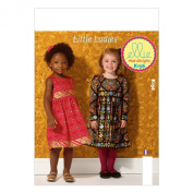 KWIK-SEW PATTERNS K0156 Girls' Dresses Sewing Template, All Sizes