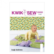KWIK-SEW PATTERNS K4022 Blanket and Toy Sewing Template, One Size