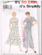 Simplicity 9447 Dress and Pantsuit
