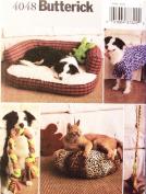OOP Butterick Pattern 4048. Pet Accessories