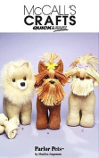 McCALL'S M5545 ~ QUICK & EASY parlour PET (DOG) SEWING PATTERN - YORKSHIRE TERRIER, POMERANIAN, SHIH YUZ