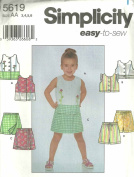 Childs Top & Shorts (Simplicity Sewing Patten 5619, Size