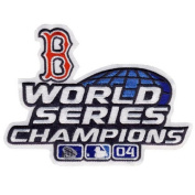 Boston Red Sox 2004 World Series Champs MLB Patch