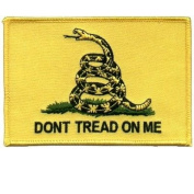 GADSDEN FLAG Don't Tread On Me Cool Motorcycle USA Biker LARGE Vest BACK PATCH!!