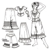 Frillies Western Underthings Pattern