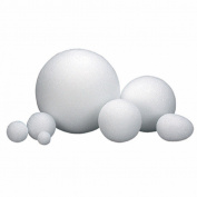 STYROFOAM BALLS 7.6cm PACK OF 12
