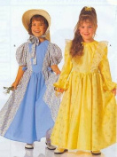 Burda 2525 Girls Costume Pattern Princess, Colonial Dress, Storybook Characters, Little Bo Peep Etc Size 4 to 10