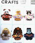 OOP McCall's Crafts Pattern 9068. Six 30cm High Treat Baskets