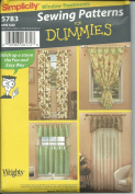 Simplicity 5783 Sewing Pattern Window Treatment Easy