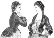 1872 Vest Basque Bodice Pattern