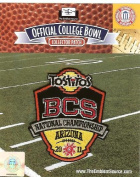 2011 BCS National Championship Game Tostitos Patch