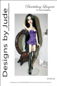 Bewitching Lingerie Pattern for 43cm Vinyl Evangeline Ghastly