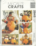 McCalls 2945 Sewing Pattern Crafts Pumpkin Pokes