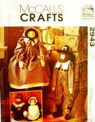 McCalls Crafts 2943 Pattern Pilgrims