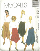 Misses Skirts McCall's Sewing Pattern 4153 (Size DD