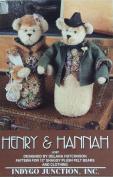Plush Felt Bears Henry & Hannah 33cm Sewing Pattern