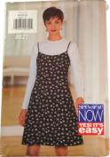 See & Sew by Butterick 3827 Sewing Pattern Misses Jumper and Top Size 18,20,22