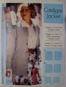 Cardigan Jacket Sewing Pattern Easy 4-22 by Step By Step