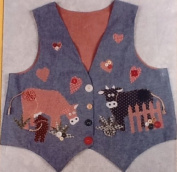 Cow-Licked - Applique Vest Pattern & Instructions