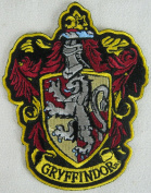Harry Potter House of Gryffindor Hogwarts Crest Patch 12cm