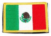 Matrix hook and loop Mexico Flag Patch