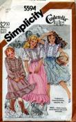 Girls Western Dance Dress Sewing Pattern