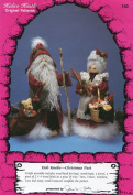 Kalico Kastle Craft Pattern ~ Hob Knobs - A Christmas Past Mrs. & Mrs. Santa Dolls