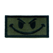King Arms Funny Patch w hook and loop Olive Drab Colour