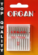 ORGAN Sewing Machine needles UNIVERSAL 130/705 H, NM 100/16, 10 pieces