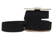 Conrad Jarvis Designer's Choice Elastic Knit Reel Black 1.25x 15 yd 15 Yards