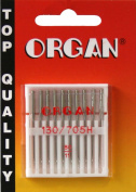 ORGAN Sewing Machine needles UNIVERSAL 130/705 H, NM 80/11, 10 pieces