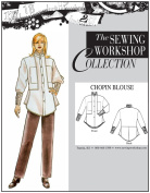 The Sewing Workshop Chopin Blouse Sewing Template, Multi-Size