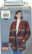 See & Sew Misses Jacket Pattern 4138 Size C