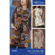 Indygo Junction Chic Cowl Neck Shift