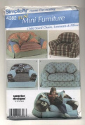 Simplicity Child Sized Chairs, Loveseats and Pillows Sewing Pattern #4382