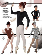Jalie Gymnastics Leotard and Dresses Figure Skating Costume Sewing Pattern #3136