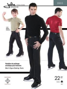 Jalie Men's Boy's Figure Ice Skating Pants Slacks Costume Sewing Pattern #2803