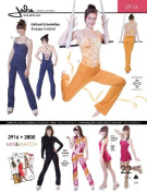 Jalie Strappy Unitard Gymnastics Exercise Costume Sewing Pattern 2916