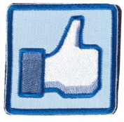 """Matrix """"Thumbs Up"""" IFF hook and loop Patch - Blue/White"""