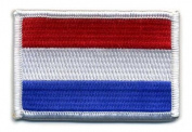 Matrix hook and loop Netherlands Flag Patch